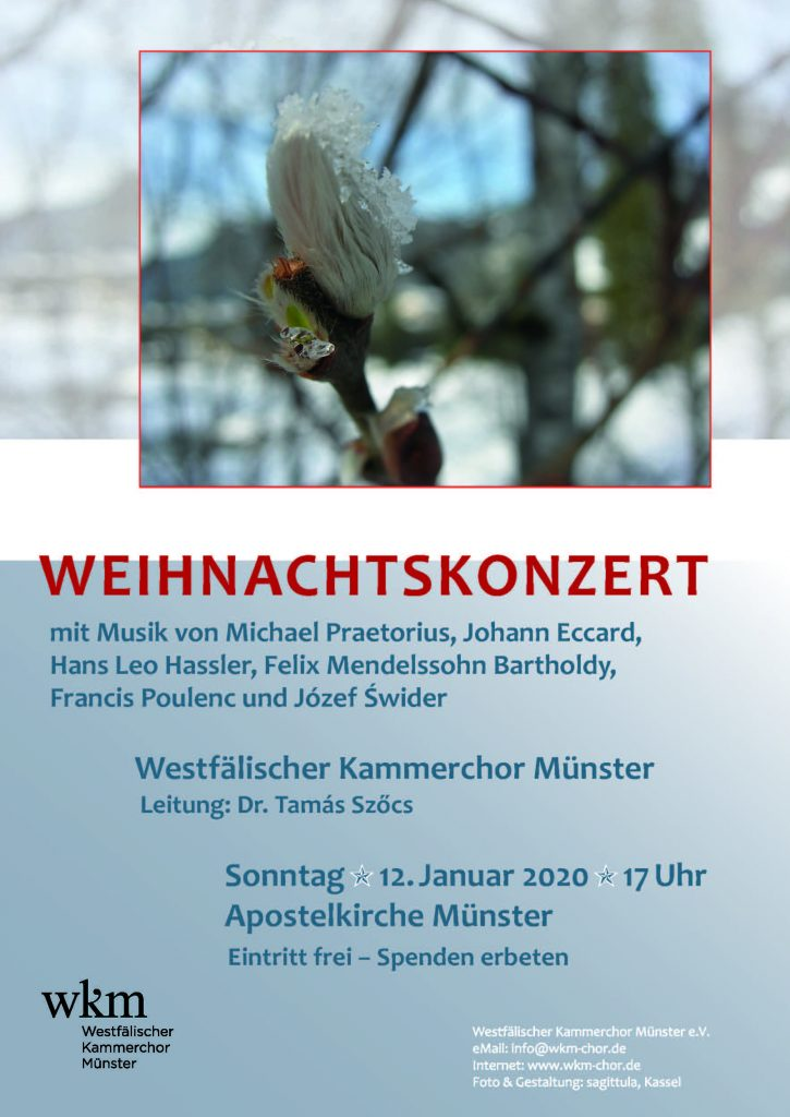 WKM Konzert 12. Januar 2020